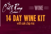 Craft Range Sessions 14 Day Wine Kit With Wood Chip Mix Cabernet Sauvignon Wine Kit